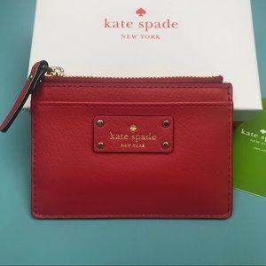 NWT Kate Spade Adi Street Walket Card Holder